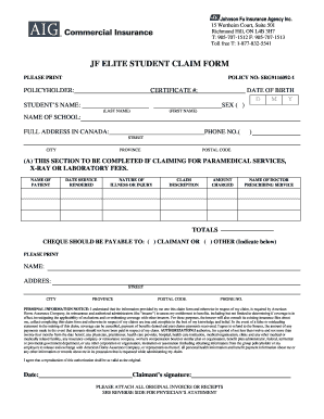 Tic Travel Insurance Claim Form