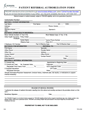 humana medicaid family referral form