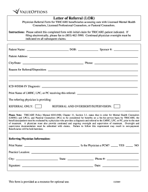 Pre Authorization Form For Tricare - Fill Online ...