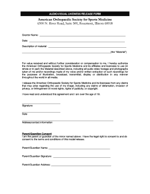 Superior Photo Release Form Template Microsoft Word