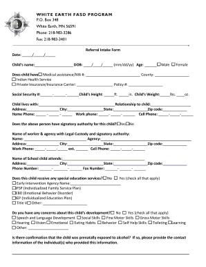Referral Intake Form4docx