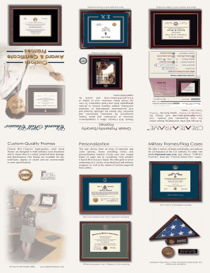 Custom-Quality Frames Personalization Military Frames/Flag Cases ...