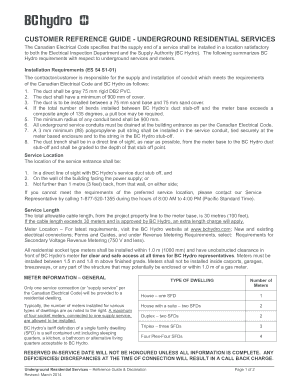 Bc Hydro Declaration - Fill Online, Printable, Fillable, Blank