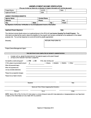 Unemployment Form - Fill Online, Printable, Fillable, Blank ...