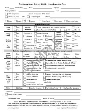 rental house inspection checklist Forms and Templates - Fillable ...