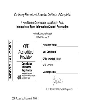 cpe certificate template - certificate template powerpoint forms fillable