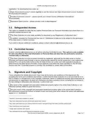 Licence Agreement   UK Data Service