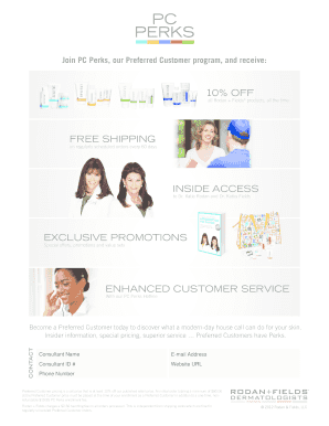 Fillable Online FREE SHIPPING - Dermatologist-Created Skincare