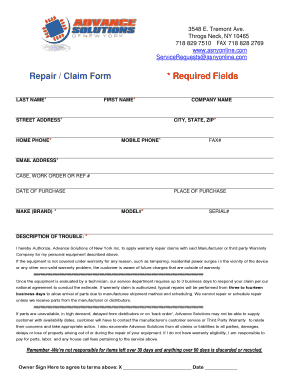Cell Phone Repair Authorization Form User Guide Manual That Easy - Cell phone repair form template