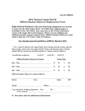 student observation form high school - Printable Templates