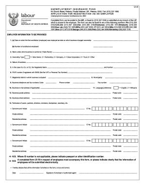 Fillable Online Form UI-8 - Application for registration as