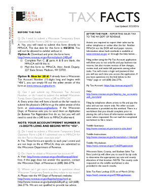 Fillable Online mmoca TAX FACTS - mmocaorg Fax Email Print - PDFfiller