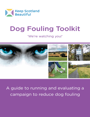 dog fouling toolkit