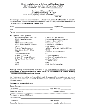 il annual report form - Edit Online, Fill Out & Download Business ...