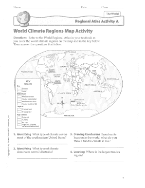 Fillable Online World Climate Regions Map Activity ... on united states landforms, united states natural resources, united states compass rose, washington state map, united states environment, weather map, united states coast, usa map, north america map, united states geography, louisiana product map, louisiana resource map, new mexico land region map, average annual rainfall us map, united states weather, average rainfall by state map, united states state maps,