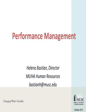 muha intranet Fillable Online mcintranet musc Performance Management - Medical ...