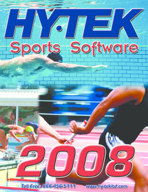 HYTEK Sports Software has been serving the Fill Online