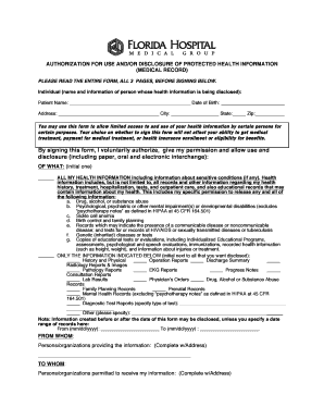 Hipaa release form florida - Fill Out Online Documents for Local ...