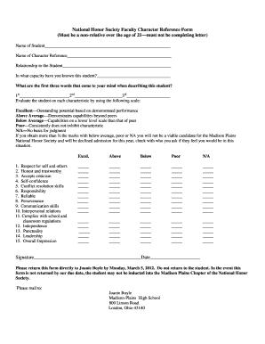 Sample Letter Of Pardon Recommendation from www.pdffiller.com