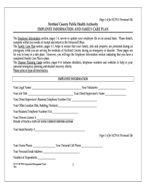Fillable family care plan army example edit print download hcpha family care plan hertfordpublichealthcom sciox Image collections