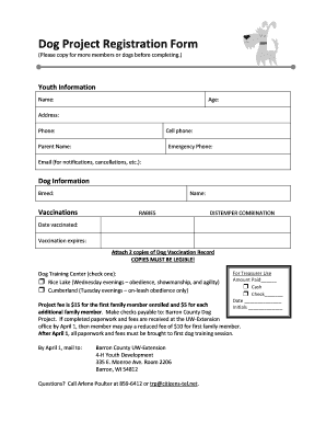 printable dog vaccination record form pdf edit fill out