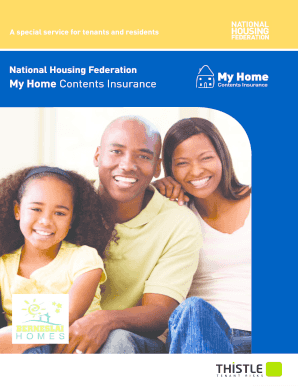 National Housing Federation S My Home Insurance