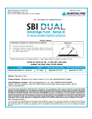 Fillable sbi kyc form online submission - Edit, Print
