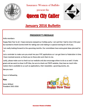 Queen City Caller - insurancewomenbuffalo