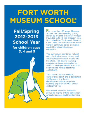 Fall -Spring 2012-13 Museum Preschool Web Brochure pg 1