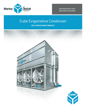 Cube Evaporative Condenser - SPX Cooling Technologies