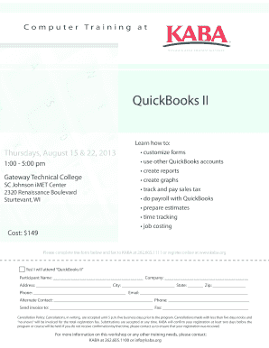 Printable sales tax in quickbooks online - Fill Out