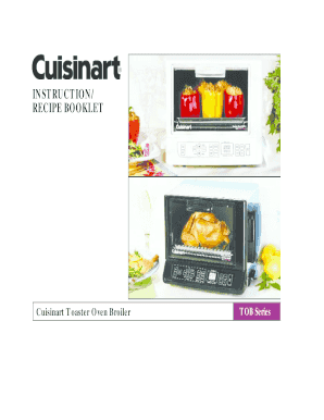 INSTRUCTION RECIPE BOOKLET - cuisinartca