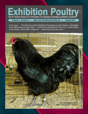 Exhibition Poultry The #1 Internet Source For Information On Showing &amp - exhibitionpoultry