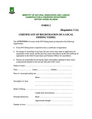 form 2 regulation 3 2 certificate of registration of a
