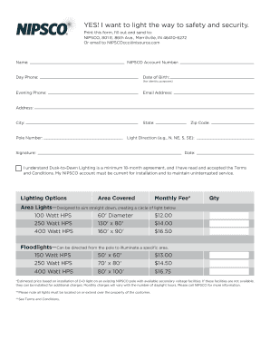 Fillable Online Dusk-to-dawn-enrollment-form030216 Fax Email Print