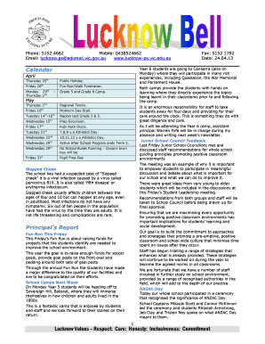 Newsletter 24.04.13.doc - lucknow-ps vic edu