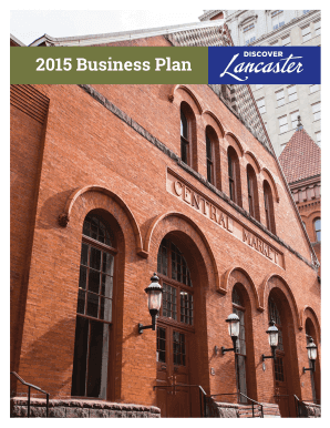 2015 Business Plan - Discover Lancaster