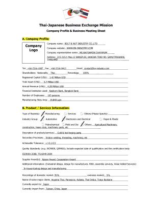 Fillable software development company profile pdf - Edit