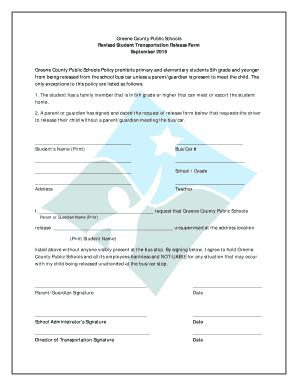 Greene County Public Schools Revised Student