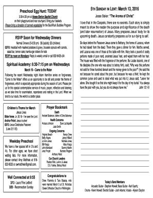 sermons pdf free download - Fillable & Printable Templates to