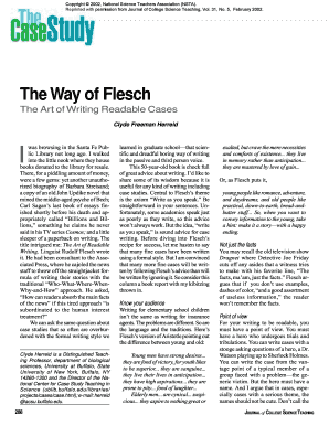 The Way of Flesch - University at Buffalo
