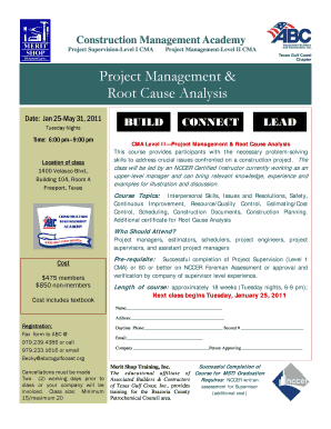 Project Management Root Cause Analysis - abctxgulfcoast