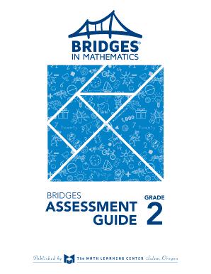Fillable Online BRIDGES GRADE ASSESSMENT GUIDE 2 - The Math