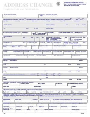 change your vehicle registration address washington state