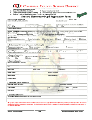 School registration form template edit fill print download sherard elementary school registration form template 4 19 2015 thecheapjerseys Gallery