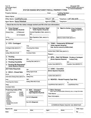 Printable Form 68 Lease Rental Agreement Northwest Multiple Listing