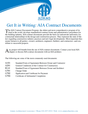 aia contract documents download - Fill, Print & Download