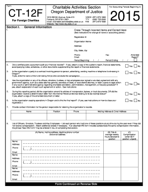 2015-2017 Form OR CT-12F Fill Online, Printable, Fillable, Blank ...