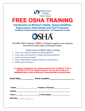 OSHA-SP-REGISTRATION-EMPLOYER Fill Online, Printable, Fillable