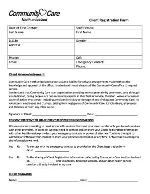 client registration services form pdf